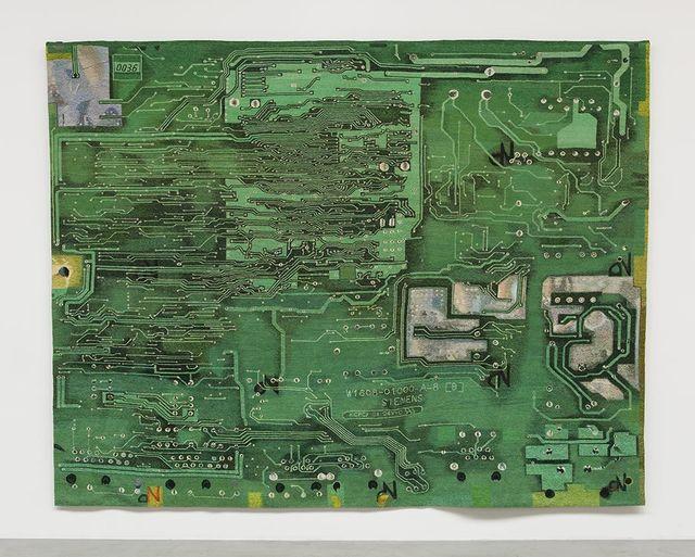 , 'Microchip IV,' 2013, kurimanzutto