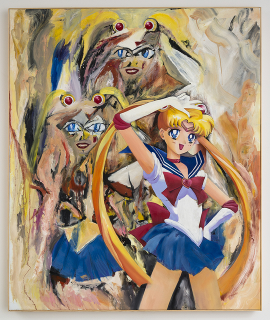 , 'From the DeMooning series (Sailor Moon),' 2015, Castor Gallery