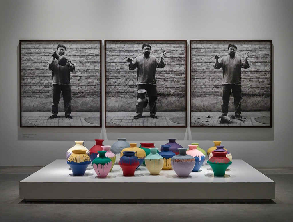 Installation view of exhibition 'Ai Weiwei: Ruptures', Faurschou Foundation, Copenhagen, 2015. Photo by Anders Sune Berg, © Faurschou Foundation