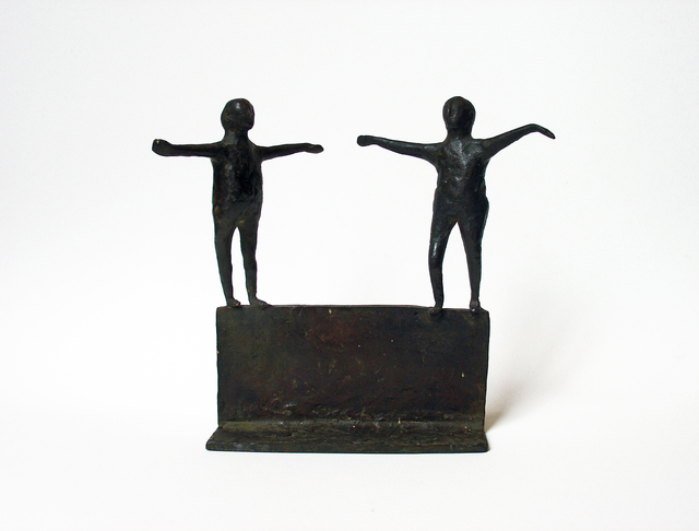, 'Untitled (Two Figures),' ca. 1958, Bookstein Projects