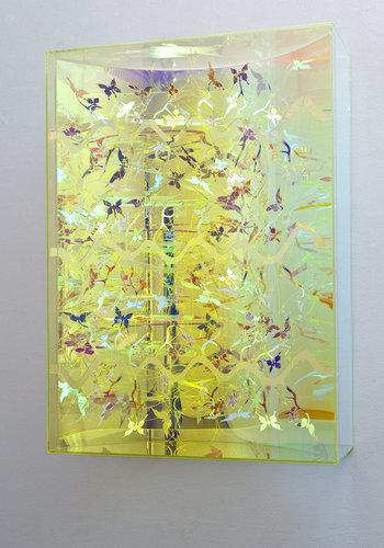 HC Berg, 'Visual Vortex, Oily Colours, Barb, Wave II', 2009, TAG ARTS