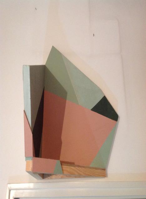, 'Composição a três cores Corrigida – Pintura de Canto,' 2013, Graça Brandão