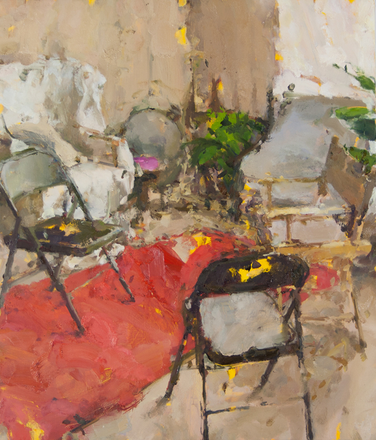 , 'Interior with Five Chairs III,' 2015, Gallery 1261
