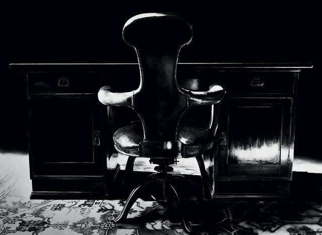 Robert Longo, 'Freud's Desk and Chair, Study Room', 2004, Print, Archival Pigment Print, Galerie Raphael