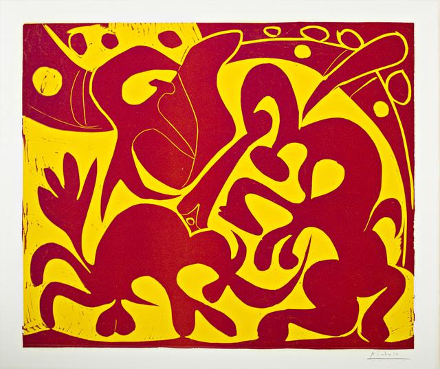 , 'Pique (Rouge et Jaune),' 1959, Surovek Gallery