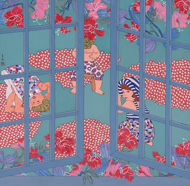 , 'The Garden,' 2015, Line Gallery