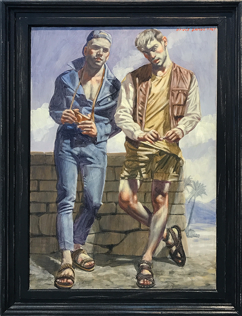, '[Bruce Sargeant (11898-1938)] Two Young Men in Sandals,' , ClampArt