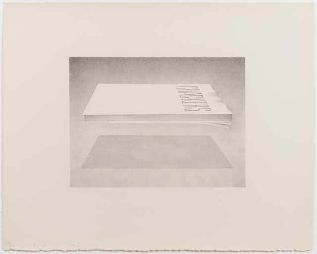 Ed Ruscha, 'Crackers, from the Book Cover series', 1970, Leslie Sacks Gallery