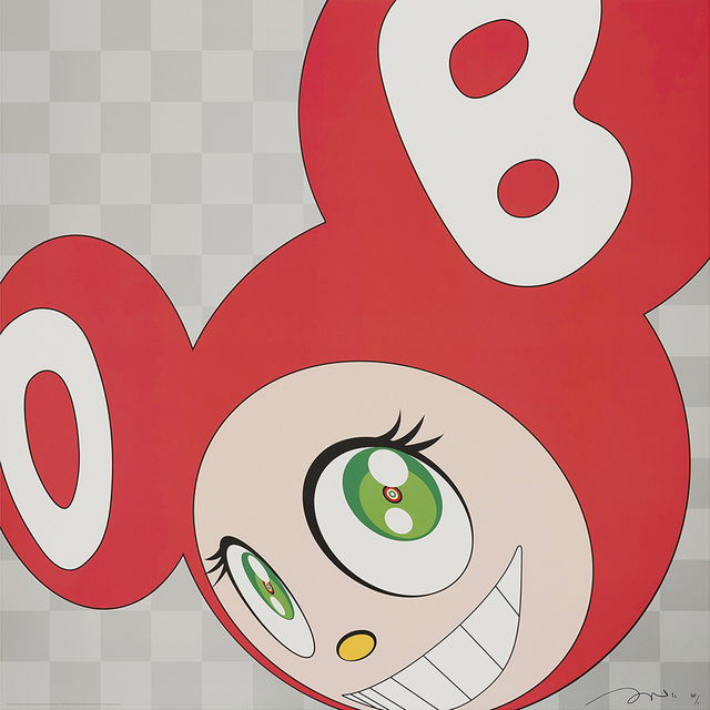 Takashi Murakami, 'And then and then and then and then and then (Red) ', 1999, Galerie Raphael