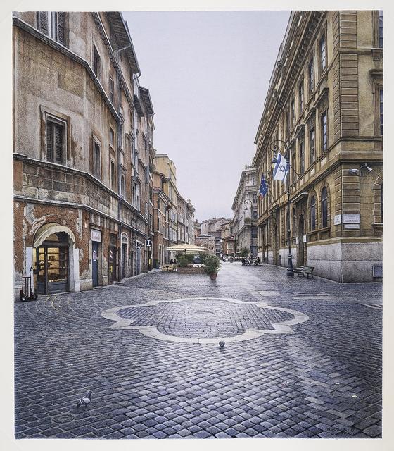 , 'Piazza delle Cinque Scole,' 2015, Cavalier Galleries