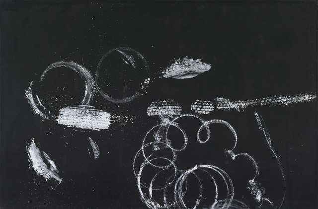 , 'Ohne Titel (Reifenbild),' 1992, Galerie Andrea Caratsch