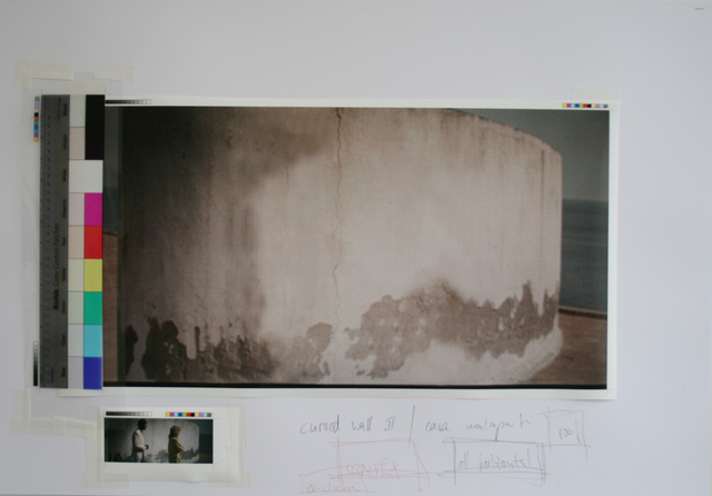 , 'Study Casa Malaparte - Version 2,' 2014, Galleria Fumagalli