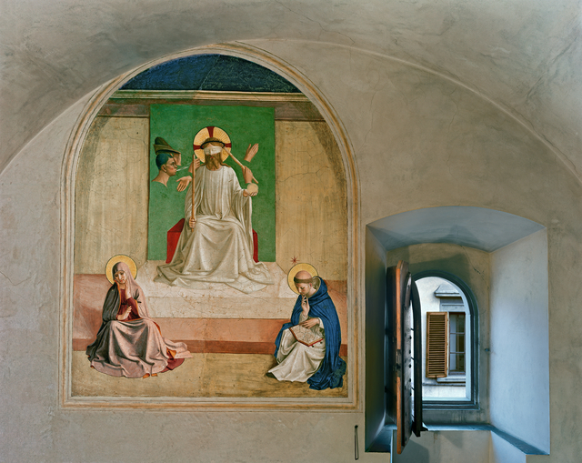 Robert Polidori, 'The Mocking of Christ by Fra Angelico, Cell 7, Museum of San, Marco Convent, Florence, Italy', 2010, Flowers