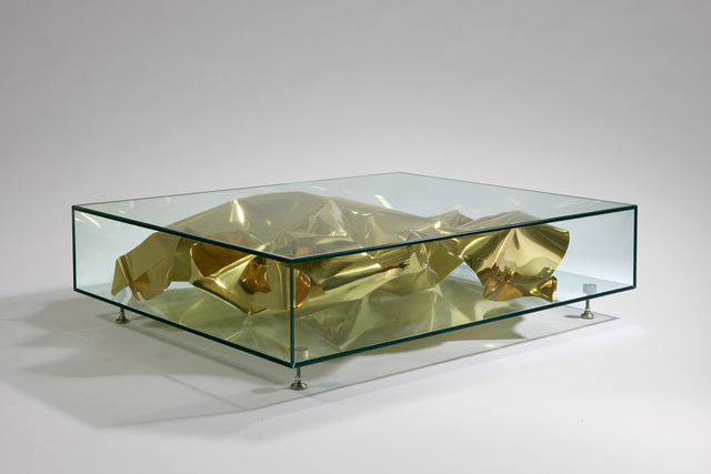 , 'Table 'Gold Crush',' 2012, David Gill Gallery