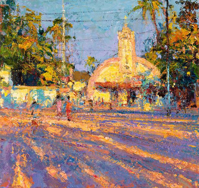, 'St Joseph's Church, Kerela,' 2017, John Martin Gallery