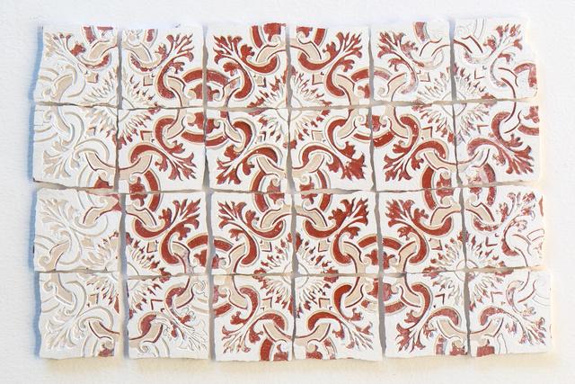 , 'Azulejinho Vermelho, Branco e Creme. Padrão #2,' 2016, Referência Galeria de Arte