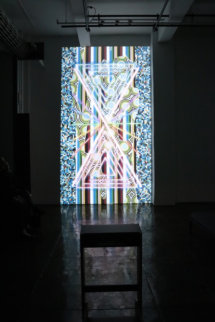 "Installation view of ""Global Illuminations"""