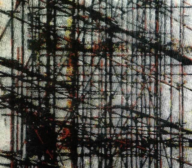 , 'Scaffolding I,' 2014, Gallery Katarzyna Napiorkowska   Warsaw & Brussels