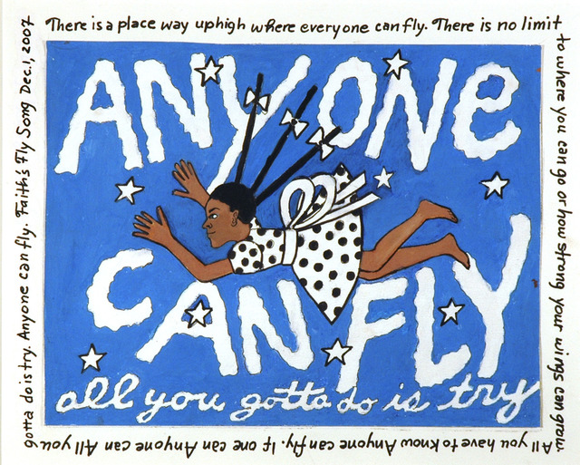 , 'Anyone Can Fly, All You Gotta Do is Try,' 2007, ACA Galleries