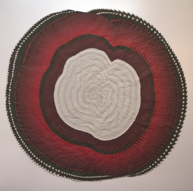 , 'Circle of The Times (Red),' 2014, Maddox Arts