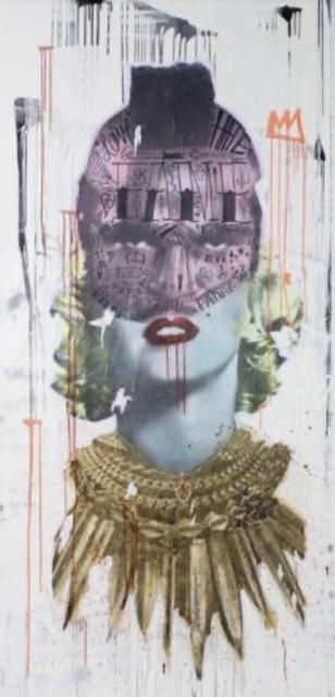 Stikki Peaches, 'T-Roe', 2014, Painting, Mixed Media on Canvas, James Baird