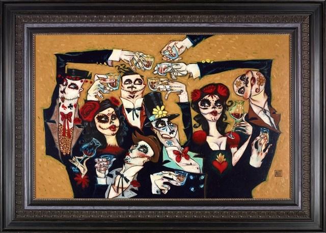 , 'Dead Man's Party,' 2018, Clarendon Fine Art