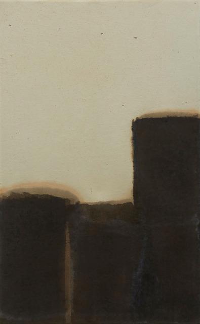 , 'Burnt Umber & Ultramarine,' 1981, Wellside Gallery