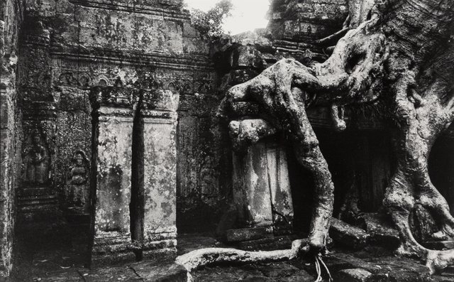 Marc Riboud, 'Temple Gates and Giant Strangling Root Trees, Angkor, Cambodia (2 works)', Heritage Auctions
