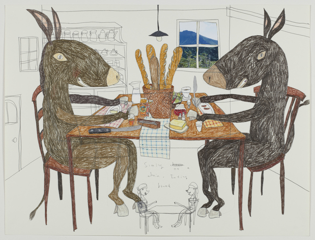 , 'Dinner Table of Donkey,' 2013, Tomio Koyama Gallery