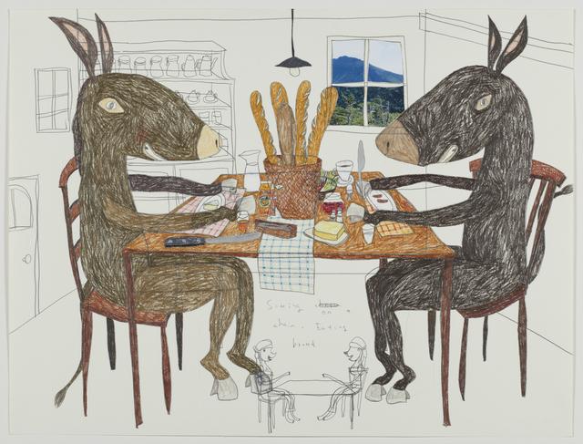 , 'Dinner Table of Donkey,' 2013, Tomio Koyama Gallery