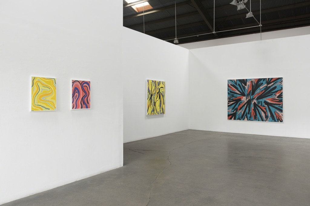 """Installation View: Russell Tyler - """"Altered State"""" at Richard Heller Gallery. Exhibition Dates: January 6 - February 10, 2018."""