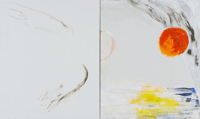 , 'Icarus,' 2015, Dvir Gallery