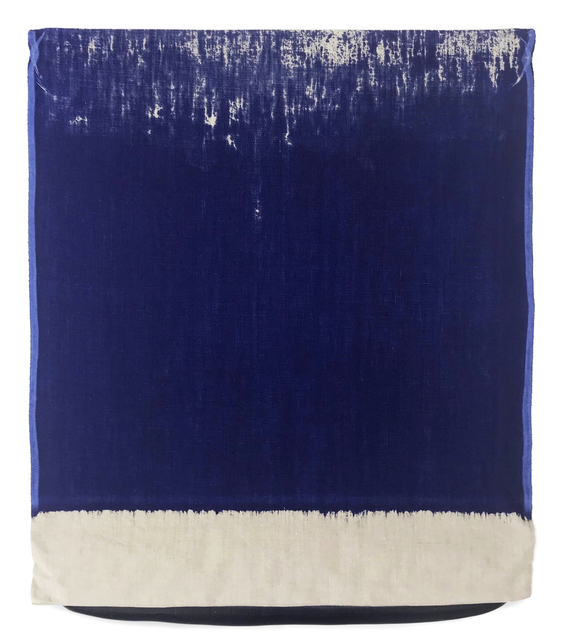 , 'Pressed Paint (Ultramarine Blue),' 2017, Gemini G.E.L.