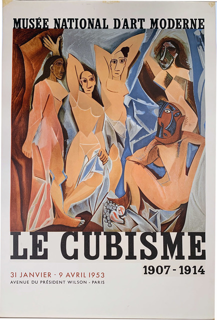 Pablo Picasso, 'Pablo Picasso – Le Cubisme 1907-1914, Musee National d'Art Moderne, Paris, HOLIDAY SALE $500 OFF THRU MAKE OFFER', 1953, David Lawrence Gallery