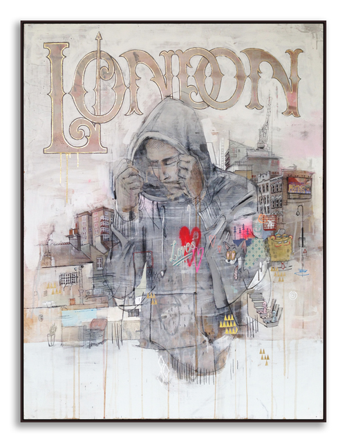, 'London Loves You,' 2014, StolenSpace Gallery
