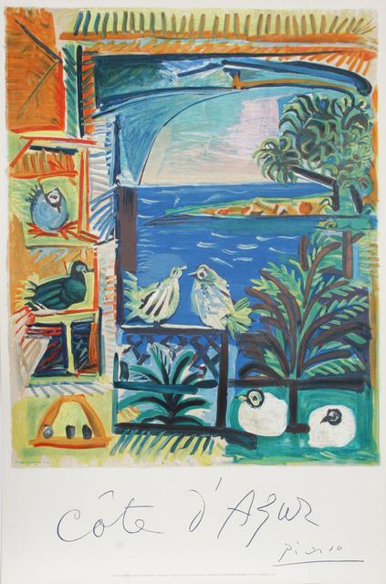 Pablo Picasso, 'Cote d'Azur', 1966, Ephemera or Merchandise, Lithograph, RoGallery