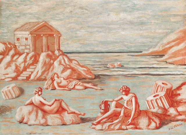 , 'Le figlie di Minosse,' 1933, Galleria Tega