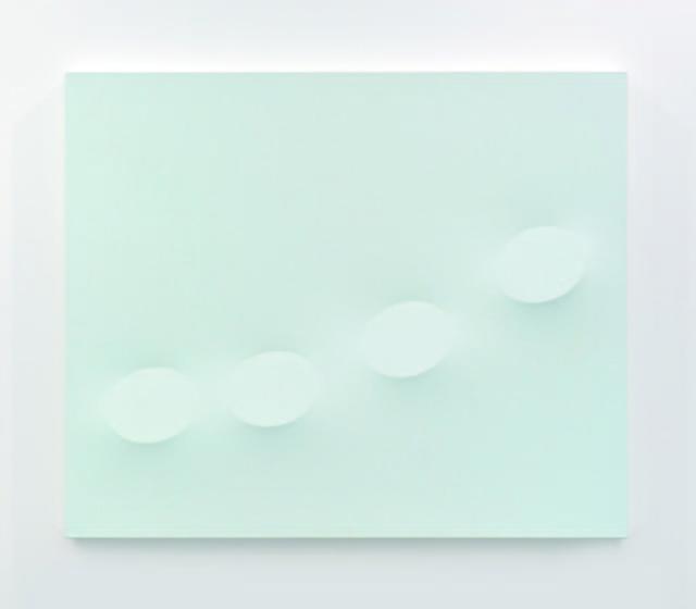 , 'Quattro ovali color cielo,' 2014, Almine Rech
