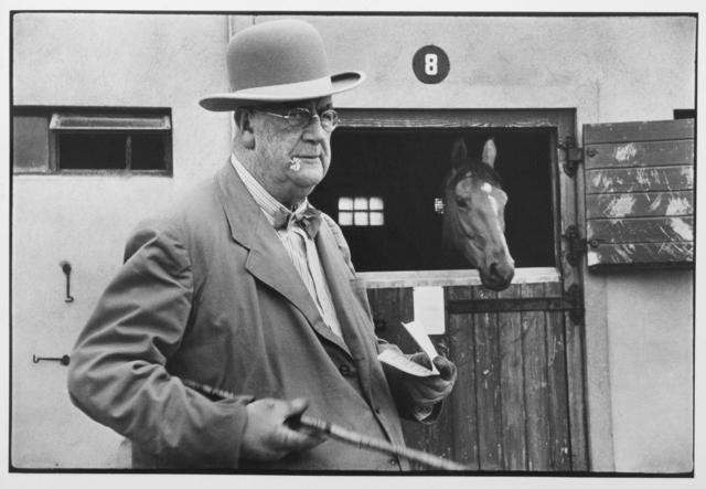 , 'At Curragh racecourse, near Dublin, Ireland,' 1955, Galleria Valeria Bella