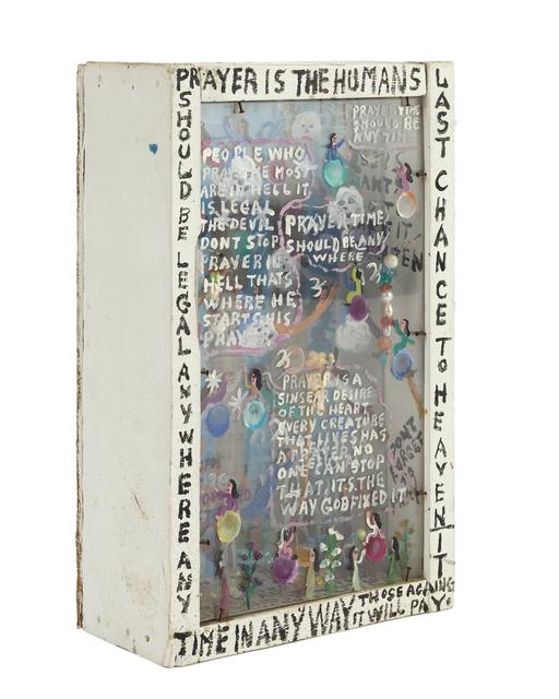 Howard Finster, 'Diorama', John Moran Auctioneers