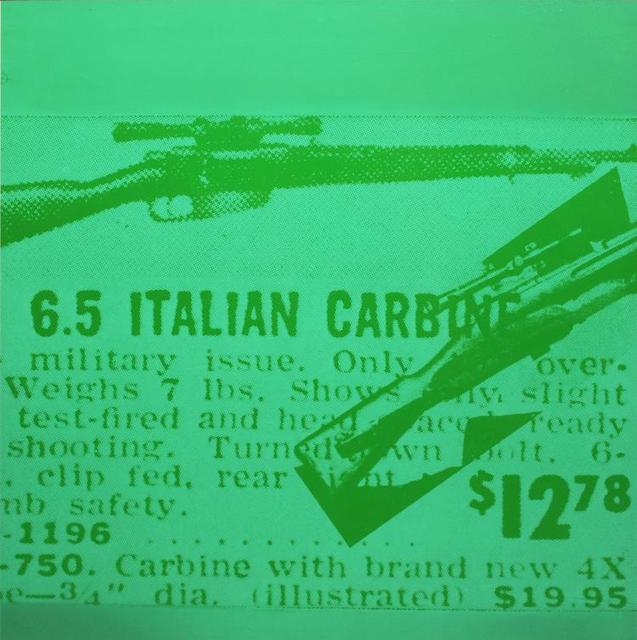 Andy Warhol, 'Rifle', 1968, Kunzt Gallery
