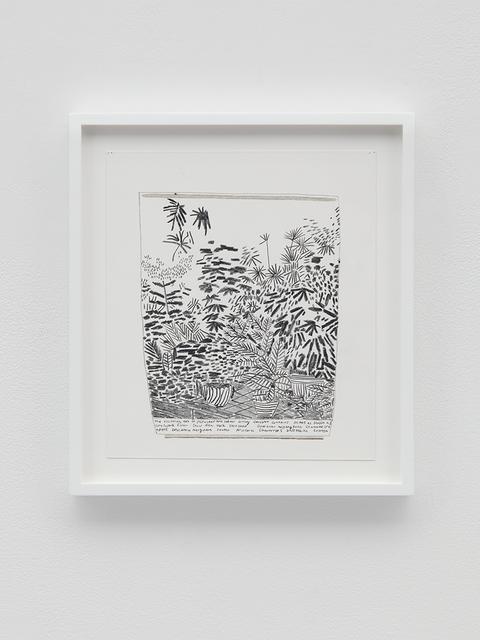 , 'B+W Landscape Pot,' 2016, David Kordansky Gallery