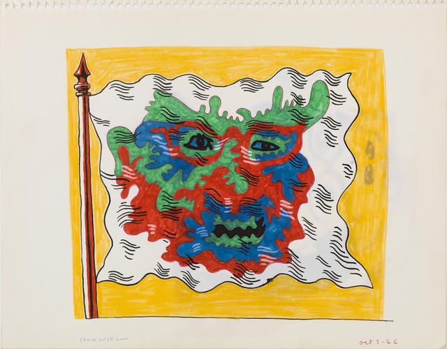 , 'Untitled (Study for Flag Series),' 1966, Derek Eller Gallery