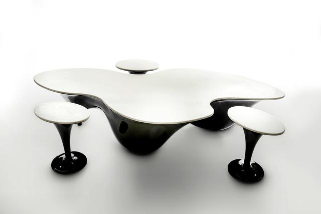 Samuel Pawlak, 'Pangaea', 2019, Design/Decorative Art, Fiberglass and corian (black and pearl gray), Wexler Gallery