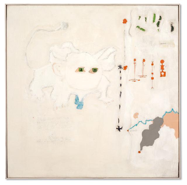 , 'Portrait de Wolfgang Schulze  deguisé en Leon Blanc,' 1963, Galerie Michael Hasenclever