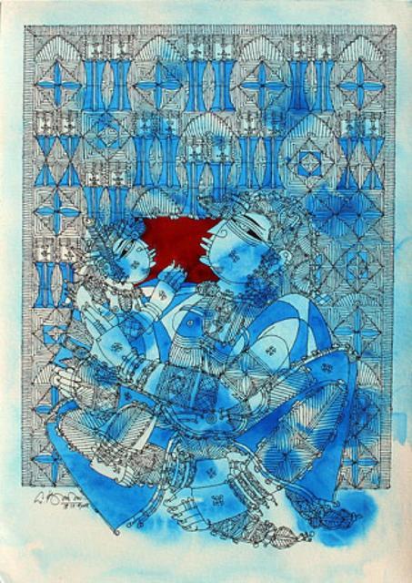 , 'Yasoda & Krishna,' 2008, The Noble Sage Collection