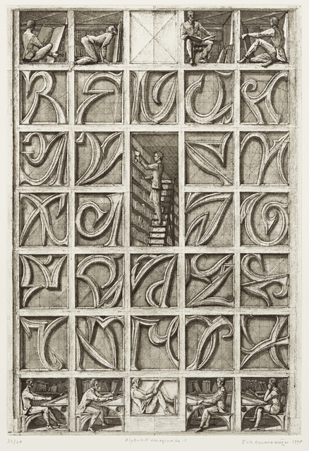 , 'Alphabet imaginaire I,' 1998, Childs Gallery