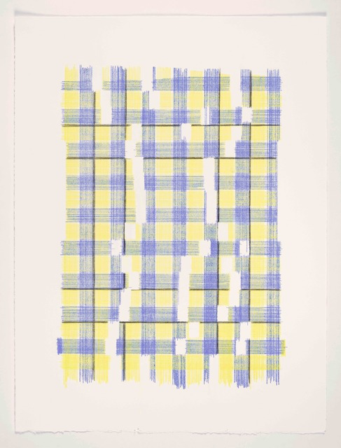 , 'Forms Of Normal Matter (Plaid),' 2019, MARQUEE PROJECTS