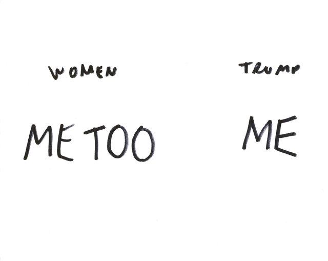 , 'Resist Drawings (Me Too),' 2018, Jane Lombard Gallery