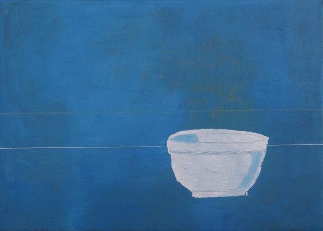 , 'White Bowl,' 2018, John Martin Gallery